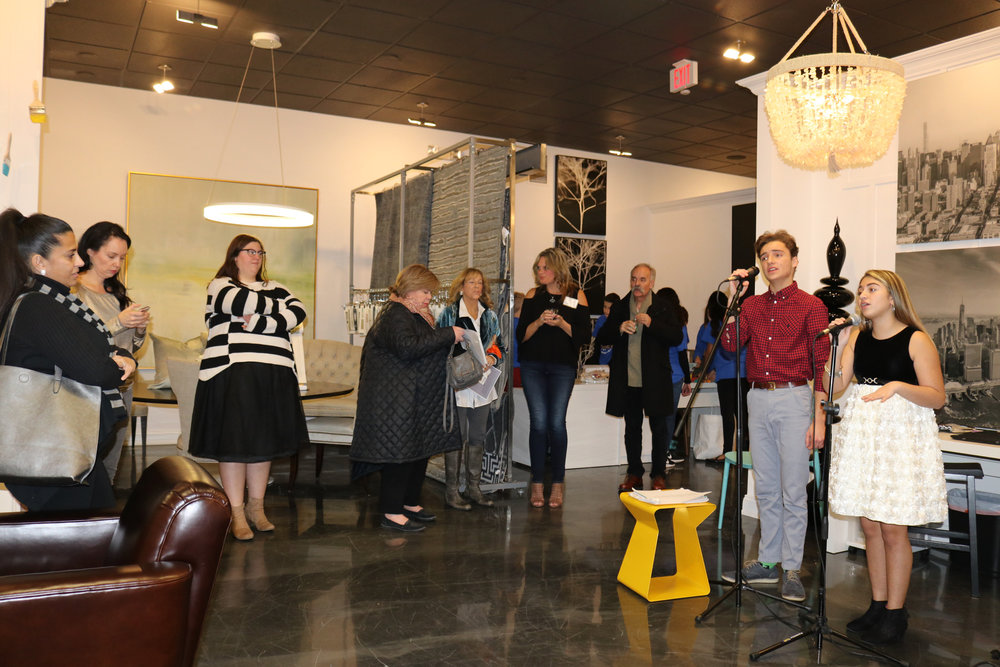 Talented local students performing at RBDC