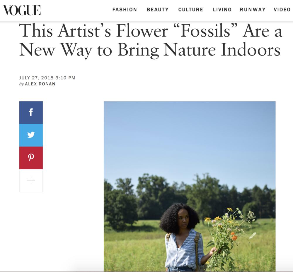 Vogue , July 2018