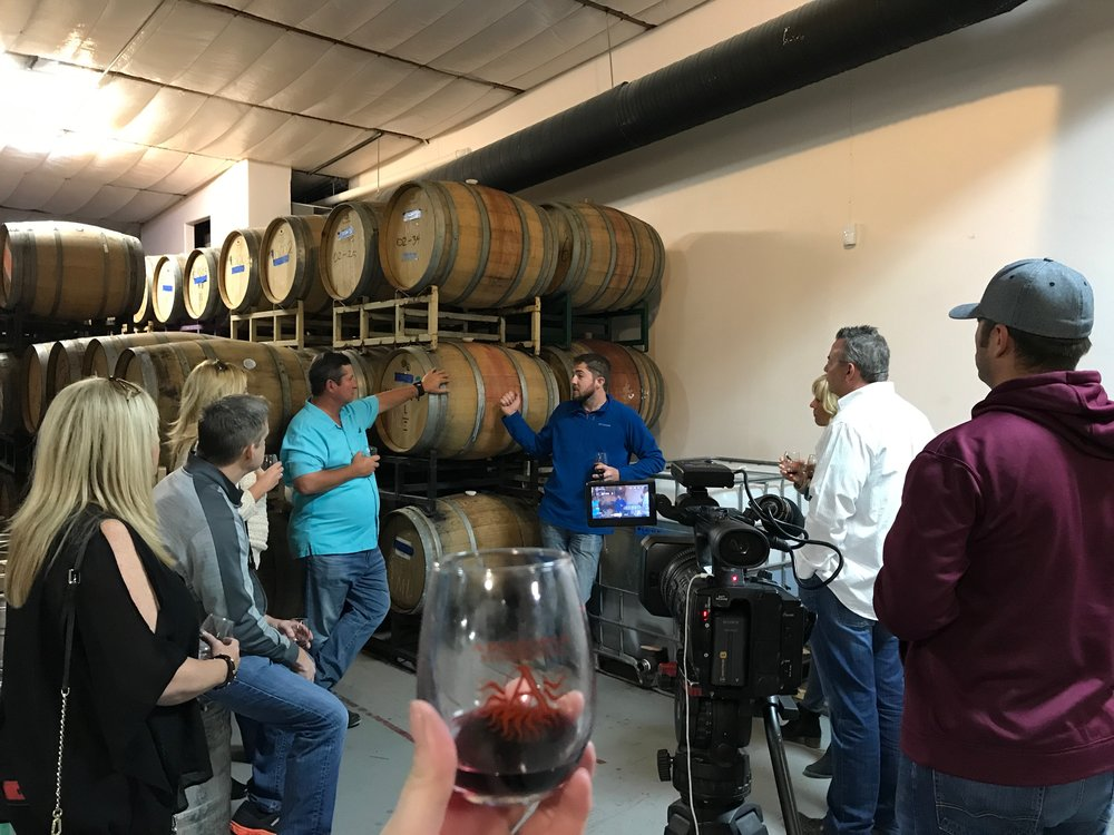 Tour from Winemaker, Matthew Raica