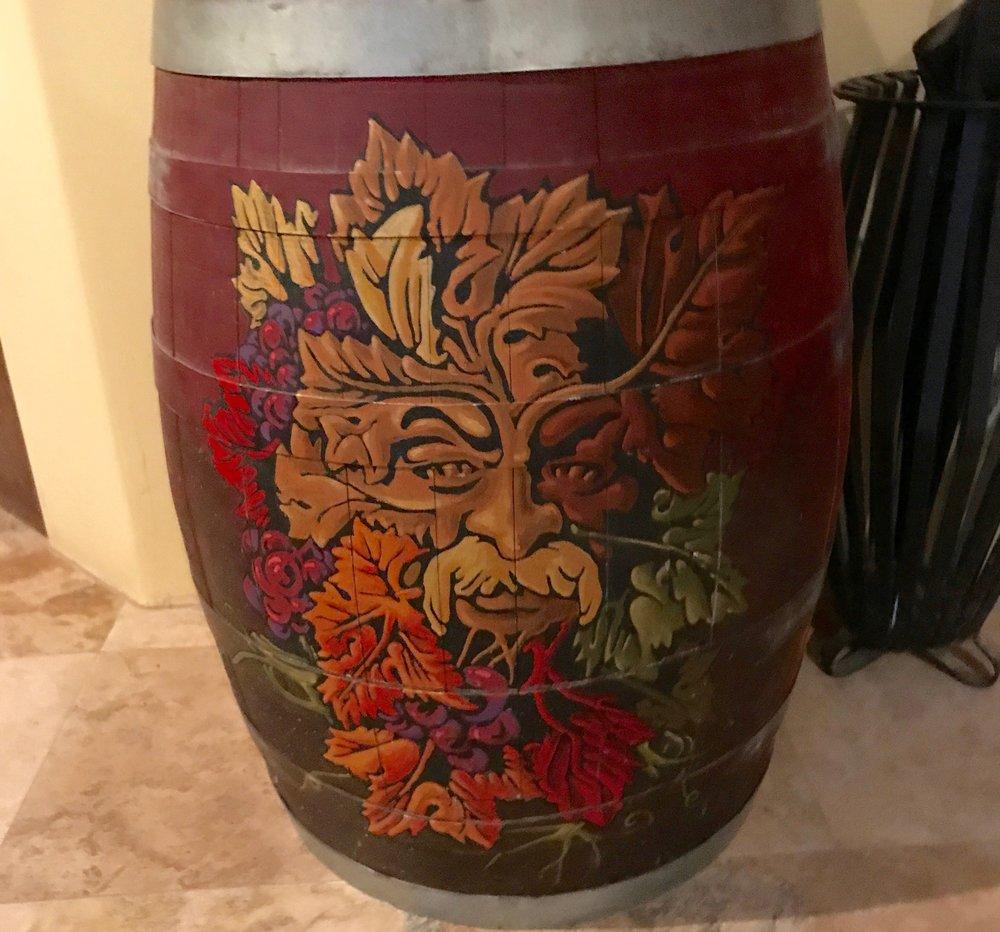Decorative Barrel