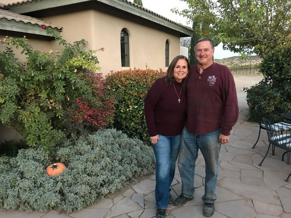 Barbara Predmore and her husband Bob