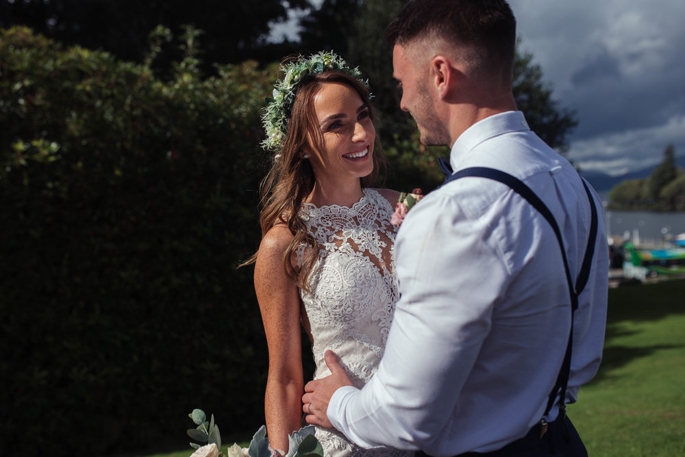 Cumbria wedding photography at the Belsfield Hotel