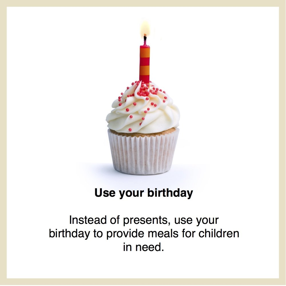 Give your birthday