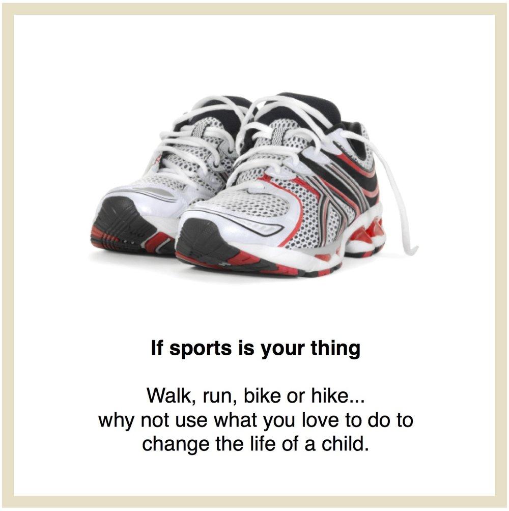 Sport Fundraser link