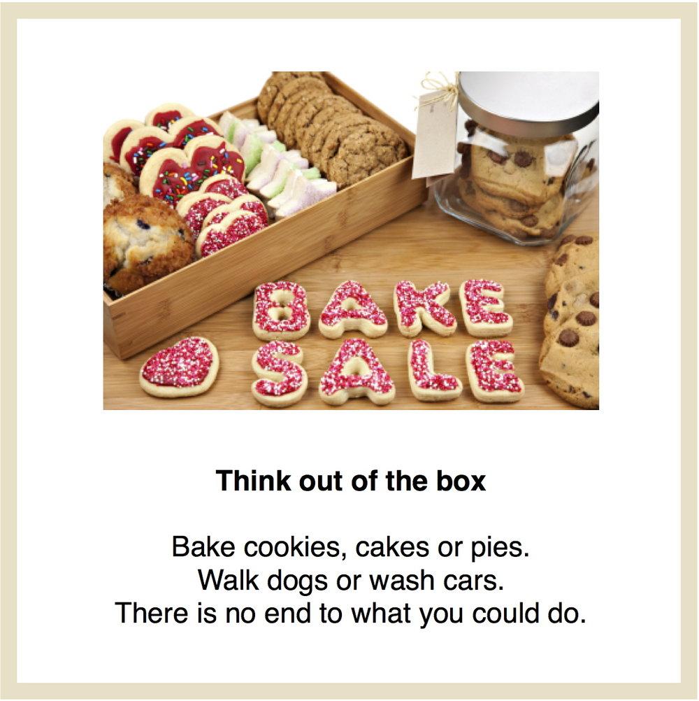 Bake sale link