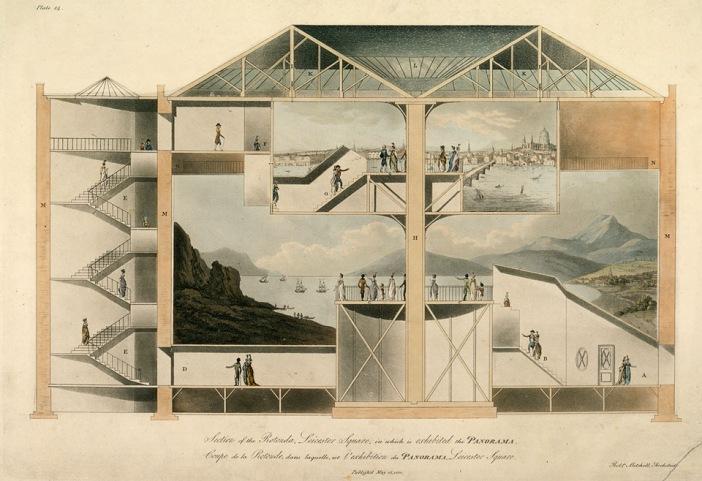 From: Bernard Comment: Das Panorama - Robert Mitchell - 1793