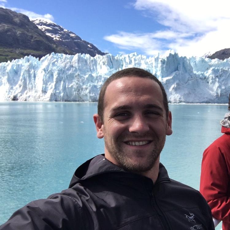 Jordan on his recent trip to Alaska!