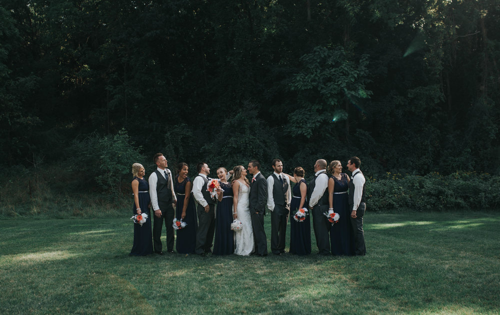 Bridal Party + Family Portraits -