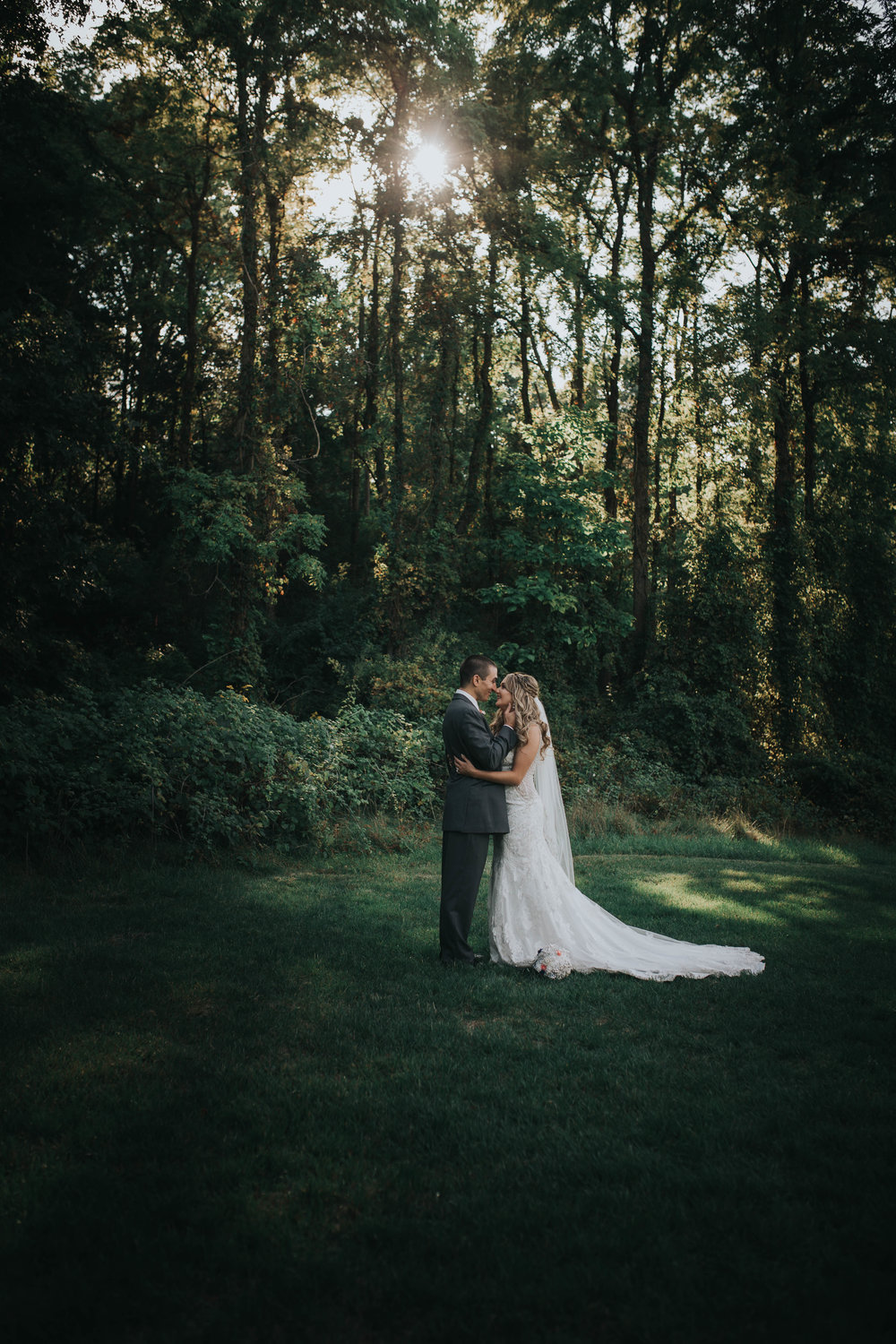 Bride + Groom Portraits -