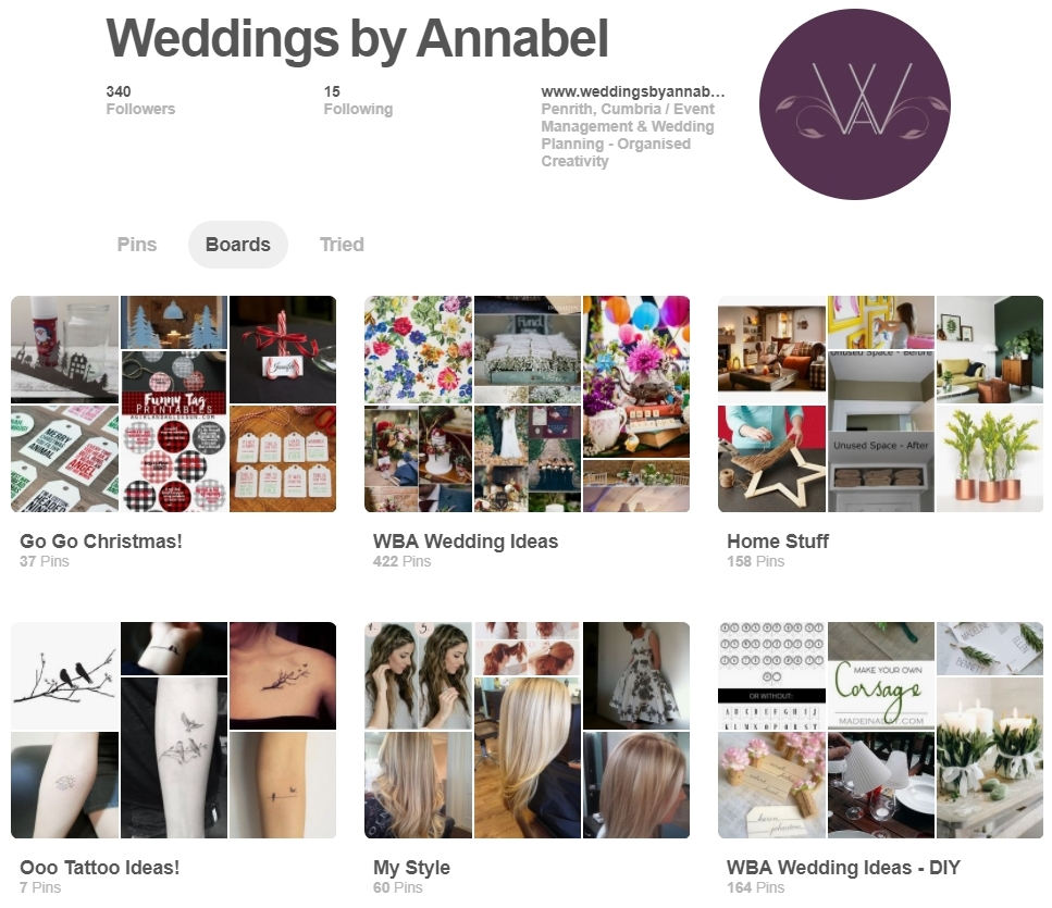 Pinterest-ing ideas - Boards full of ideas for styling or DIY projects to make your wedding suit you.