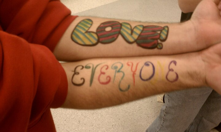 From To Write Love on Her Arms day 2011. Photo by Alice Connor.
