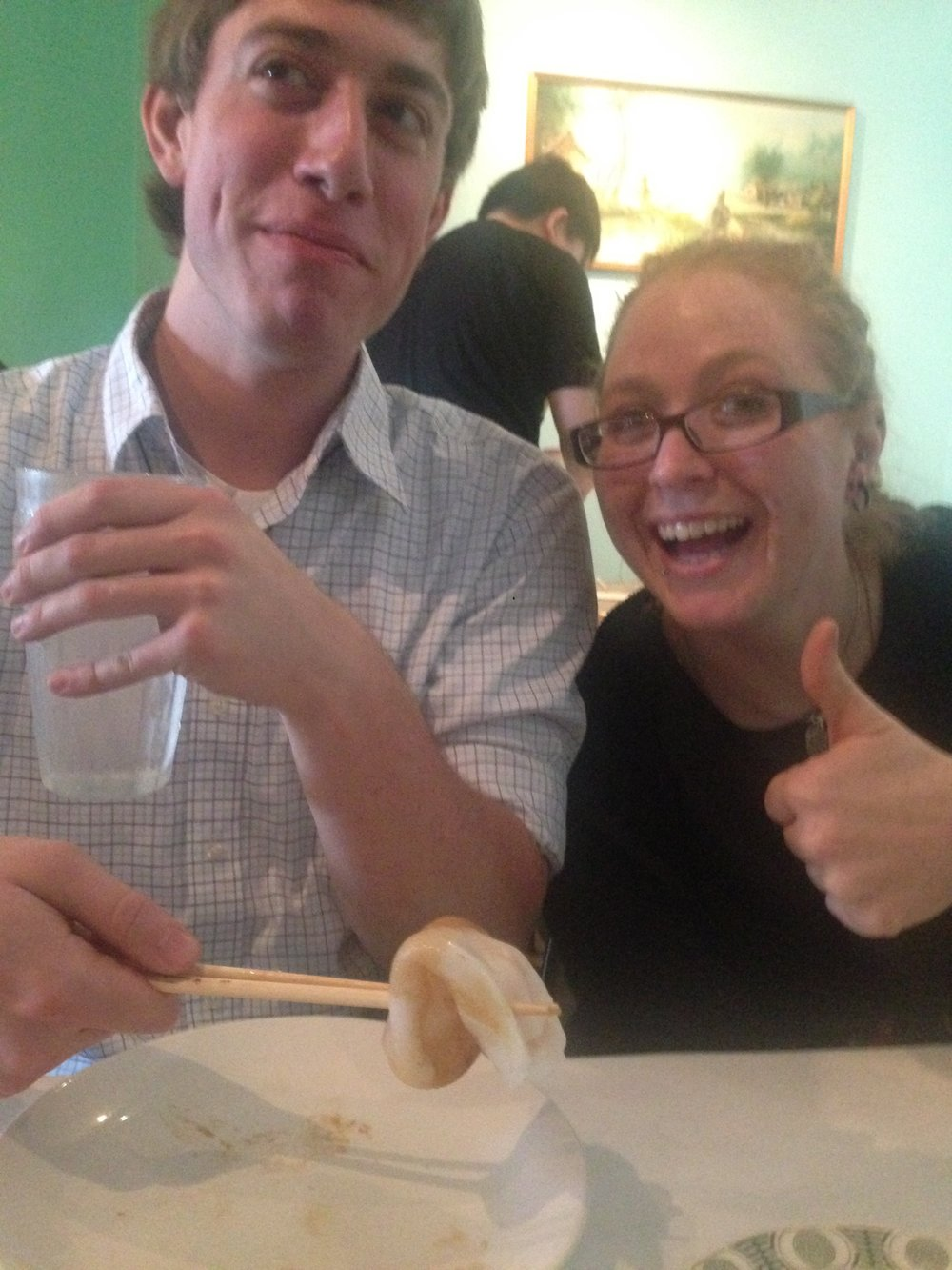 dim sum with Gavin and Liz