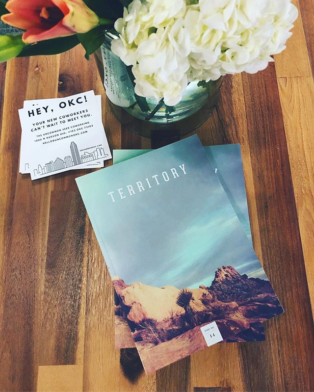 We're so pumped @territoryokc included us in their 14th issue! If you're in #midtownokc, you can pick up your copy right next door to us at @barriosmexican!