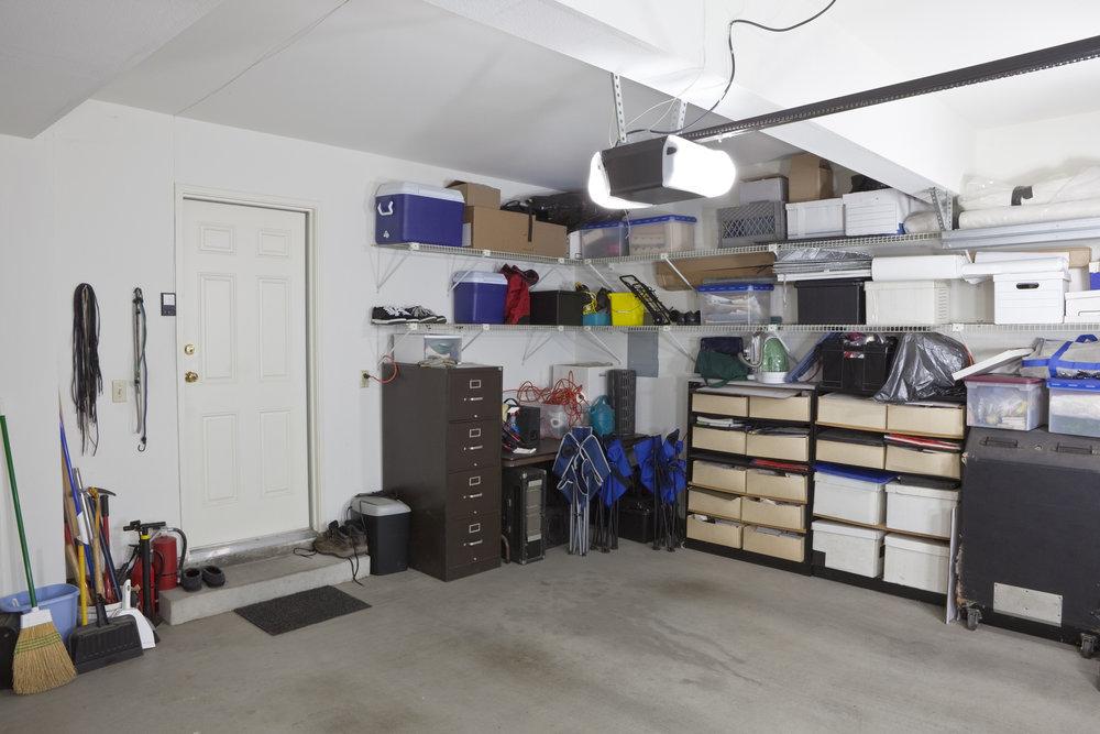 Garage - Make your garage work for you by utilizing all the space available. We will work to identify the items you are using (and not using) and find homes for the items that remain. The bonus: we can even make space for a car or two!