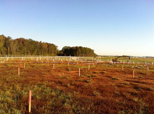 Work begins on a one megawatt solar farm as part of the West Aviation Campus.