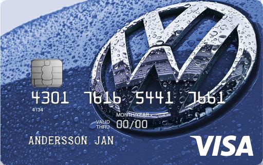 Visa Volkswagenkortet