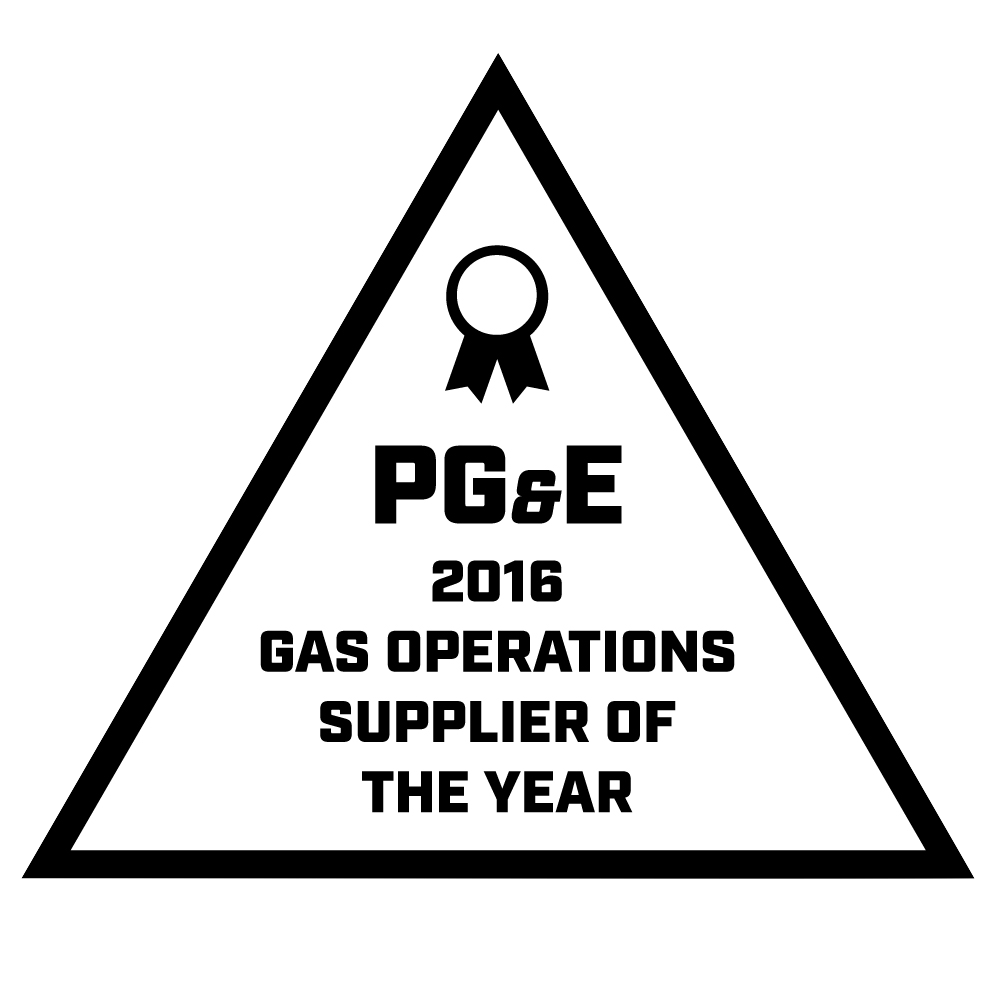 Pacific Gas & Electric awarded BTI 2016 PG&E Gas Operations Supplier of the Year