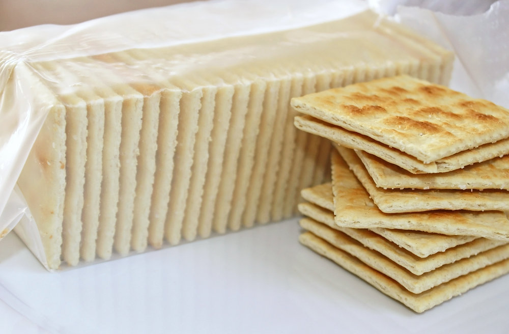 Saltine Crackers, no dip - Saltines are the worst crackers known to man. Hospitals serve them to the sick because they have the texture of sand and the flavor of tears. Head to a Super Bowl party with an already opened box of Saltines and the host will probably understand that you don't want to be there. Off the hook!
