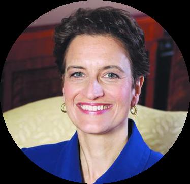 Dr Elizabeth Kiss     Warden and Global CEO, Rhodes Trust