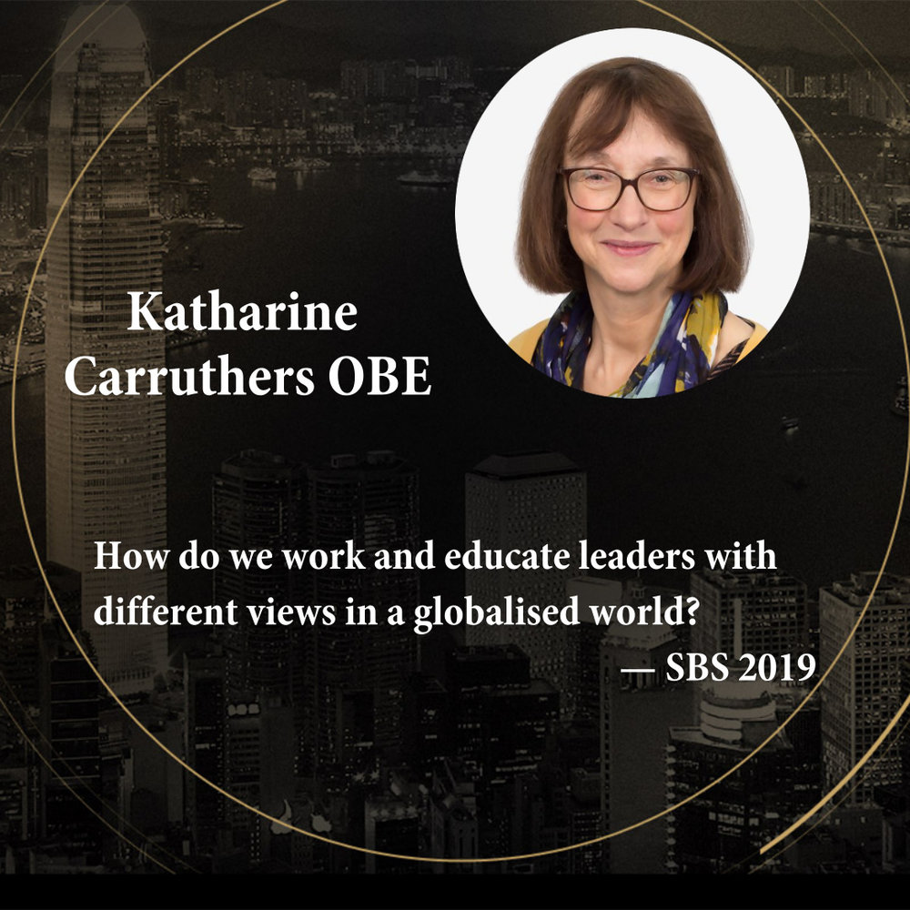 Katharine Carruthers OBE   Director of UCL Institute of Education (IOE) Confucius Institute for Schools
