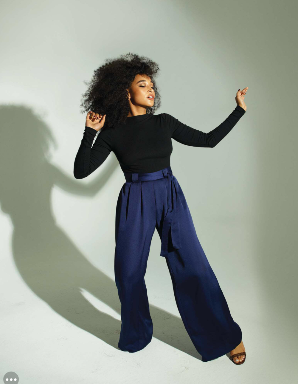 Variety  Magazine - August 28, 2018: Amandla Stenberg in The Capulet, The Halo, The Magician and The Sunny