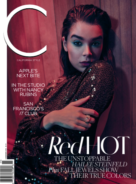 "C Magazine - November 2018: ""Bling Ring"" featuring The Sublime huggies"