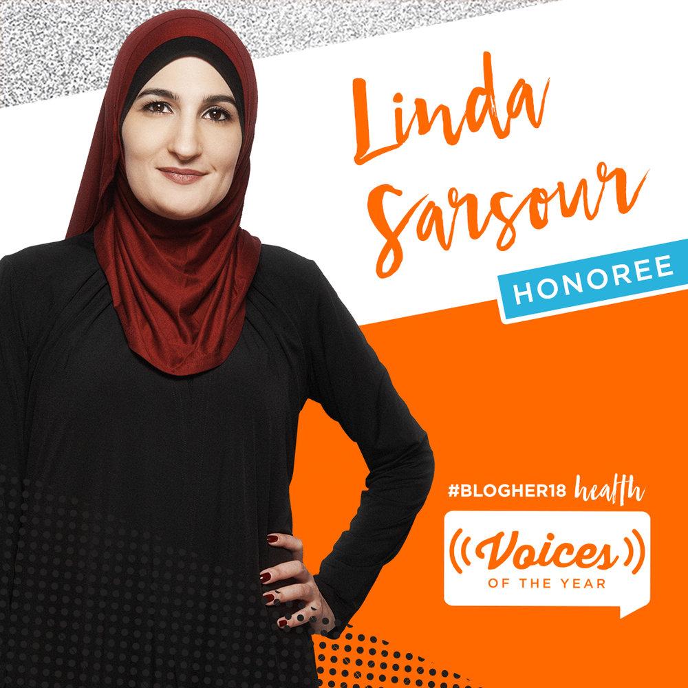 LINDA SARSOUR<br>Women's March Global<br><b>Revolution Award</b>