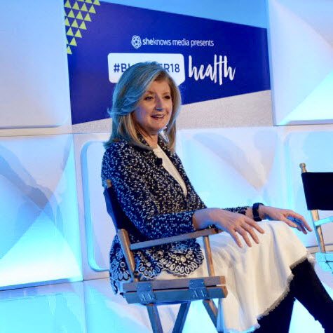 Closing Keynote with Arianna Huffington
