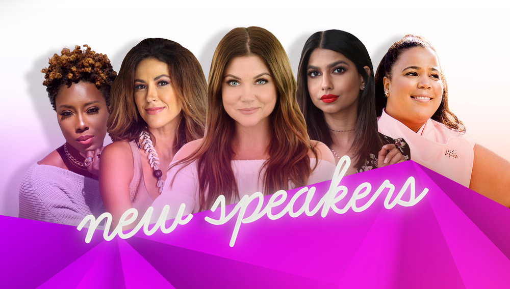 Welcome to the lineup, ladies - We can't wait for you to meet the next round of speakers who will take the stage at #BlogHer18 Creators Summit!