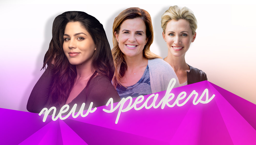 hello Summer + four New Speakers - Welcome Megan Batoon, Nicole Feliciano, Morgan Kaye and Jenny Galluzzo to #BlogHer18 Creators Summit!