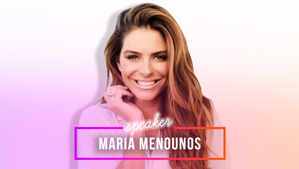 meet maria menounos - Join us for a candid discussion with Maria on her career as a journalist and how she's using her platform for good.