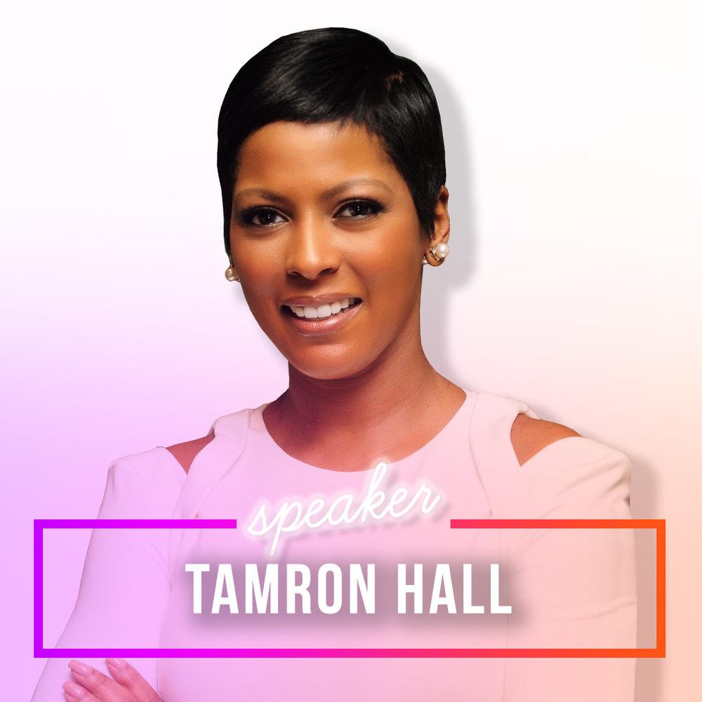TAMRON HALL