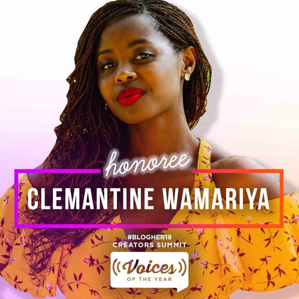 CLEMANTINE WAMARIYA