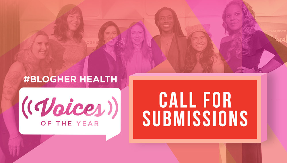 Celebrating Women's Voices - The Voices of the Year (#VOTY) Awards are coming to #BlogHer Health this January in LA!