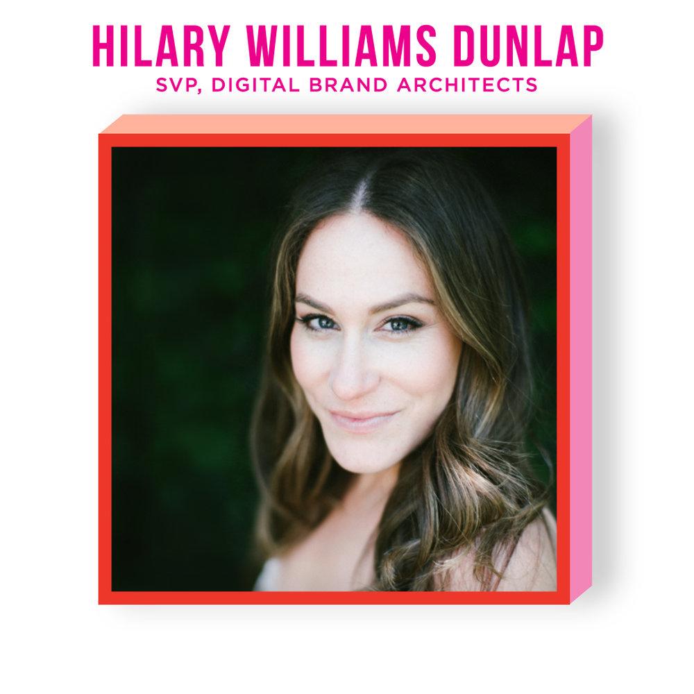 HILARY WILLIAMS DUNLAP