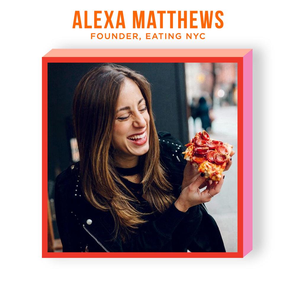 ALEXA MATTHEWS