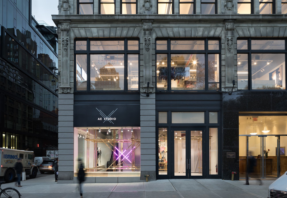 American Eagle flagship, New York