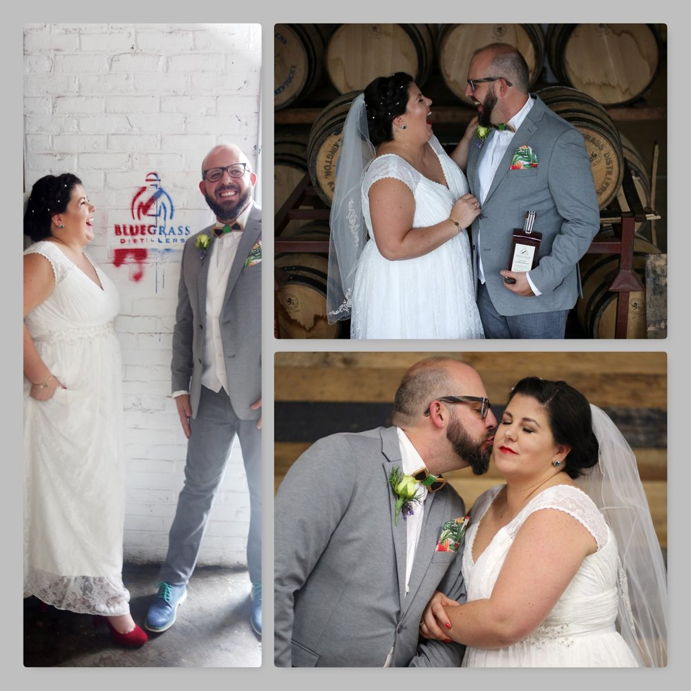 We welcome events of all sizes, including a First Look photoshoot with Matt and Lauren Halvorson done by Britney Howard Photography.