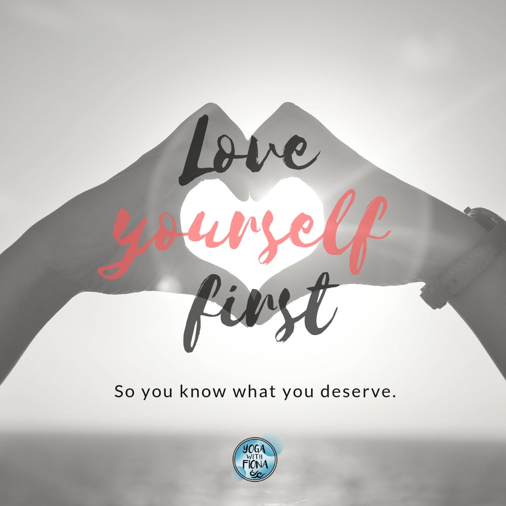 self love yoga with Fiona