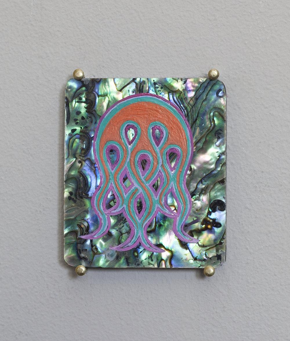 Six small Stigmata, Seaweed motif