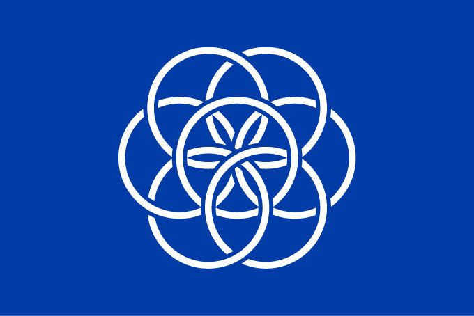 The International Flag of Planet Earth fully supported by Samadhi Eco Rs