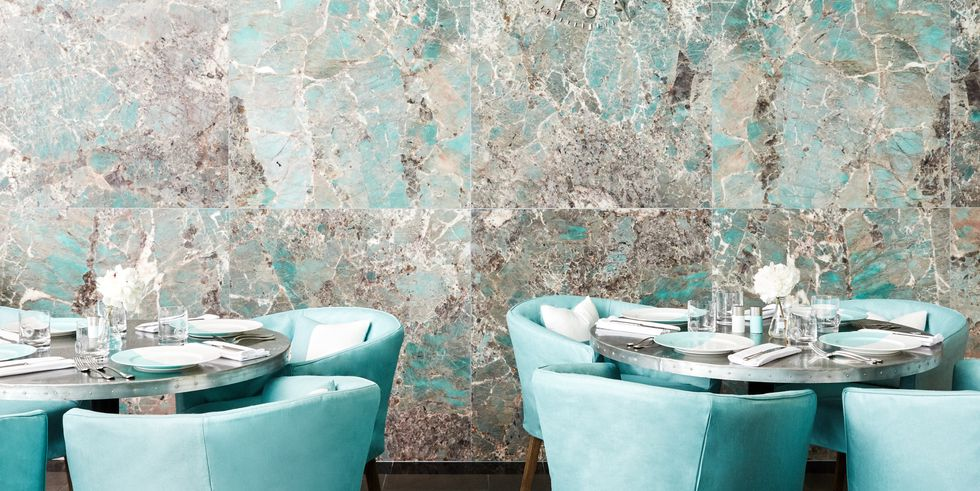 You can now have your bridal shower at TIffany's Blue Box Cafe/
