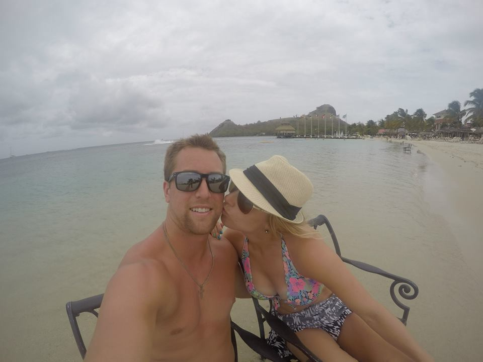 Honeymooning in St. Lucia!