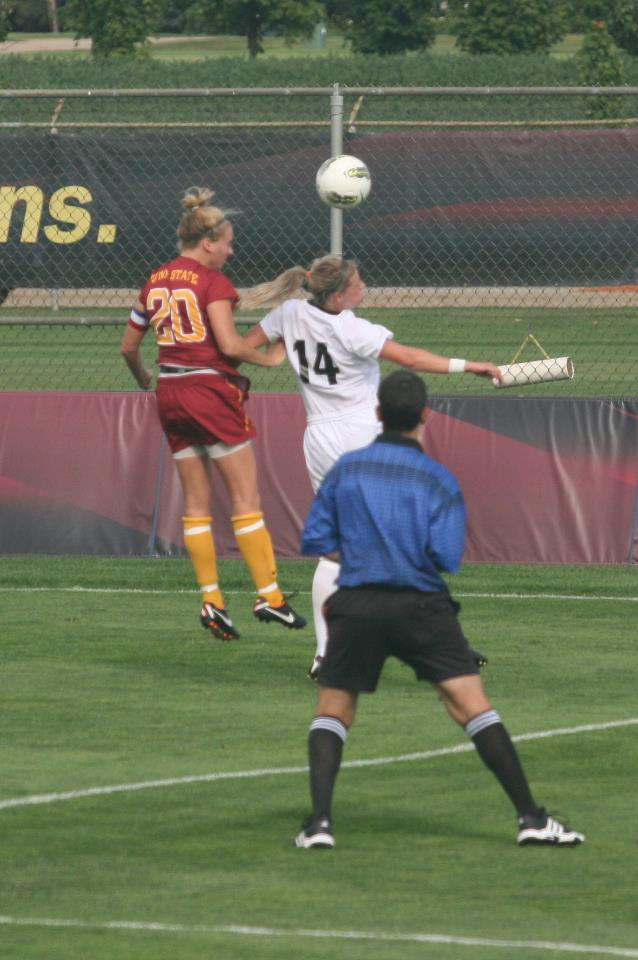Cait #20 at Iowa State