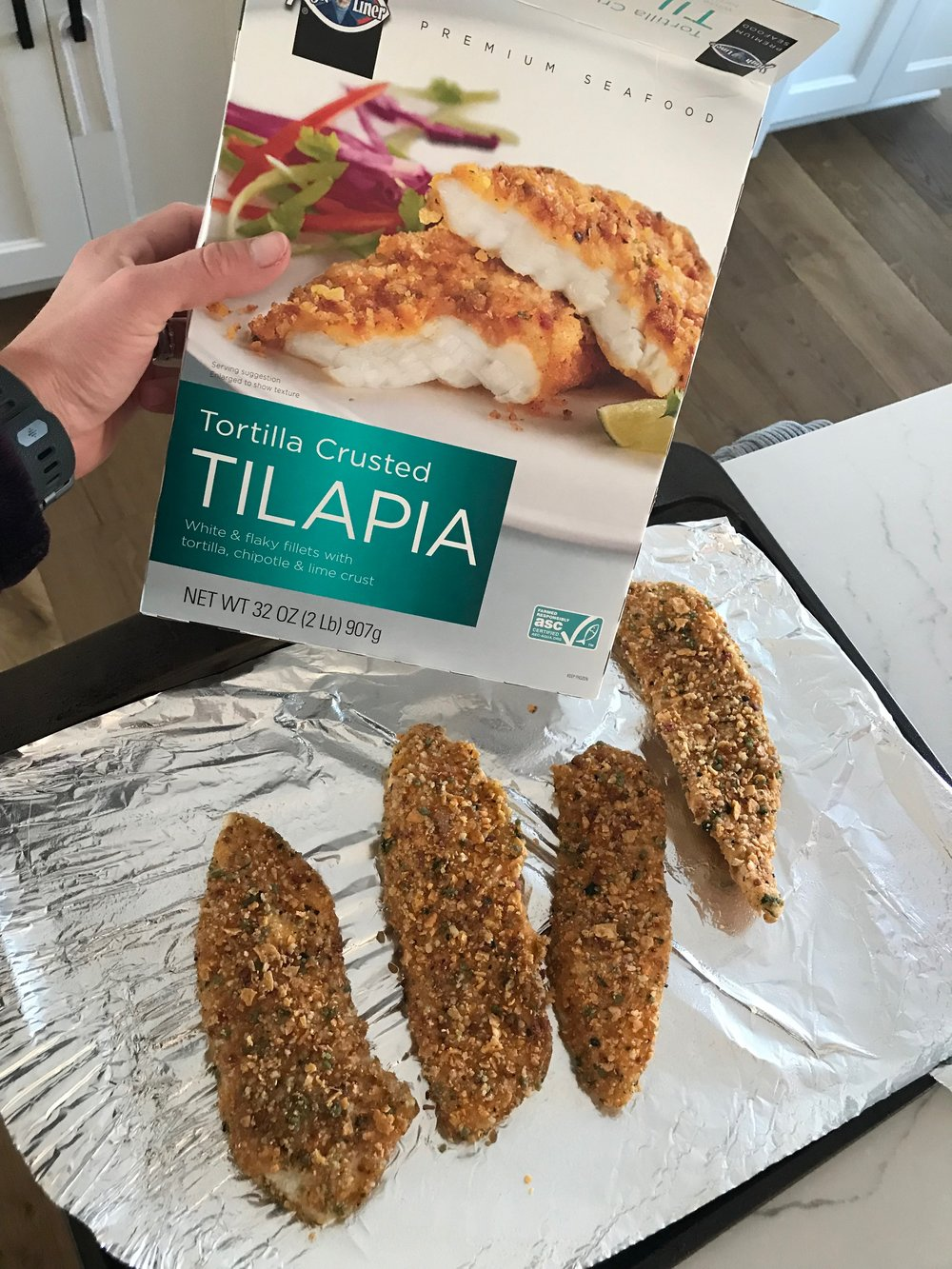 THE best Tilapia from Costco..great by itself, on fish salads, or fish tacos