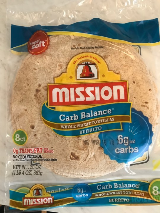 Whole wheat wraps for tacos, wraps, mini pizzas, etc