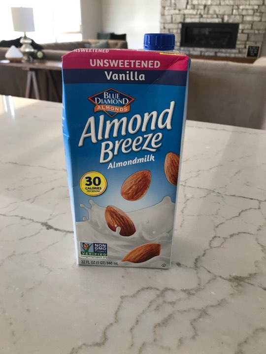 Almond milk for smoothies/cereal