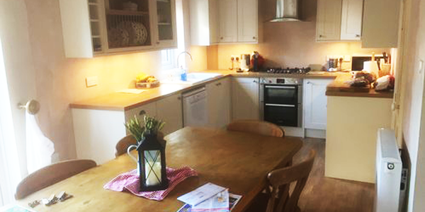Here is an example of a kitchen fitting