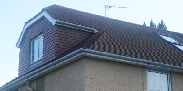 An addition to a roof