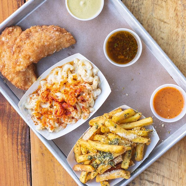 It's Truffle Mac & Cheese weather... and Empanadas & Chimichurri Fries for good measure